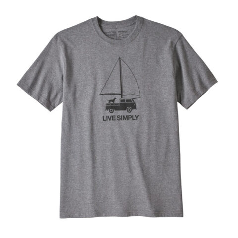 Patagonia t-särk LIVE SIMPLY WIND POWERED RESPONSIBILI-TEE