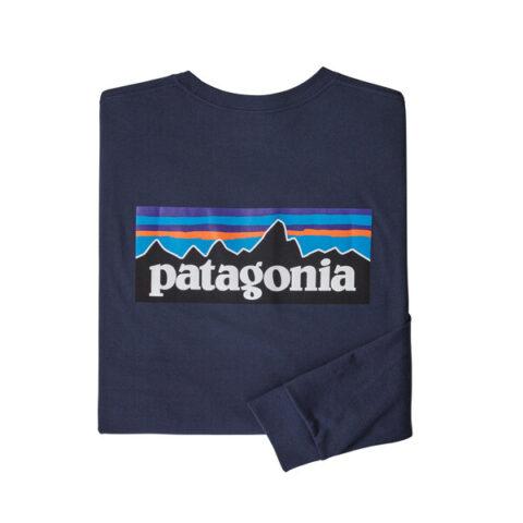 PATAGONIA meeste pusa R1 L/S P-6 LOGO RESPONSIBLI-TEE